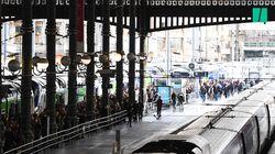 Grève SNCF: après la cohue de la veille, les images frappantes de gares calmes voire désertes ce