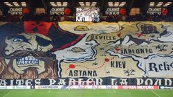 Rennes-PSG: les supporters rennais, champions du tifo cette