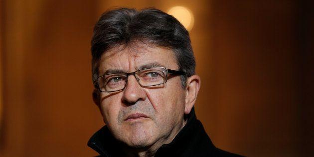 Jean-Luc Mélenchon à Paris le 21 novembre
