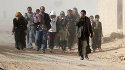 Plus de 100.000 civils retenus comme