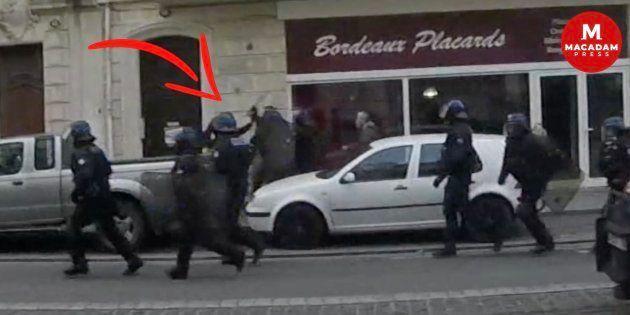 Samedi 2 mars, à l'occasion de l'acte XVI des gilets jaunes à Bordeaux, le député FI Loïc Prud'homme...
