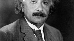 Une page manquante de calculs d'Albert Einstein