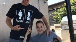 Le t-shirt du mari de Gal Gadot est