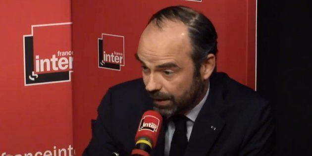 Edouard Philippe sur France inter jeudi 5