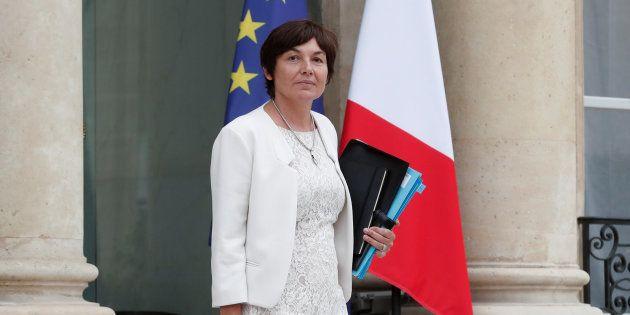 La ministre des Outre-mer, Annick Girardin, députée sortante de
