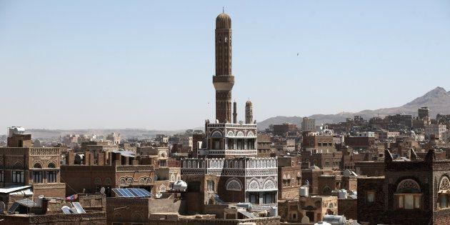 Sanaa au Yémen, en mars