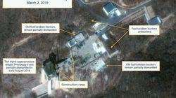 La Corée du Nord a reconstruit (rapidement) un site majeur de lancement de