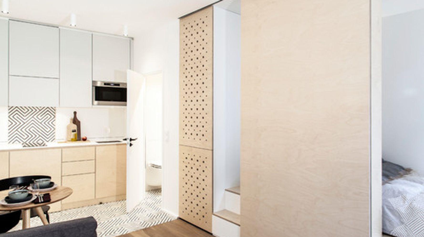 Architecte Interieur Paris Petite Surface ce studio parisien a été rénové ingénieusement pour gagner