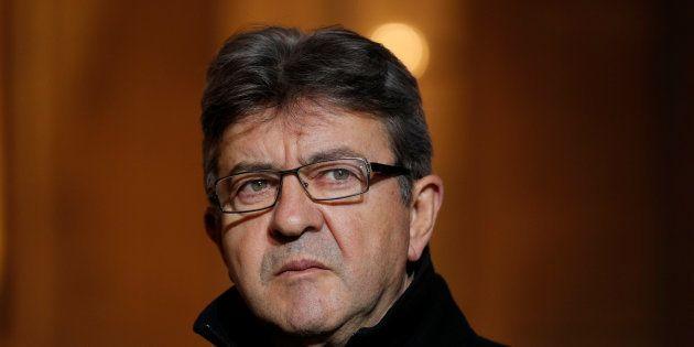 Jean-Luc Melenchon à l'Elysée au mois de novembre
