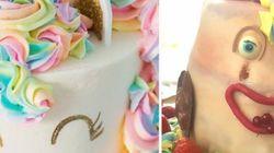 Quand elle a commandé son gâteau licorne, elle ne s'attendait pas à