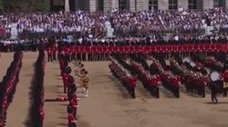 Sous la chaleur, plusieurs gardes de la reine d'Angleterre s'évanouissent en pleine