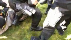 Un homme armé d'une machette provoque un mouvement de panique devant la prison