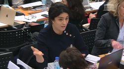Loi Asile et immigration: la députée Sonia Krimi décerne