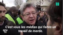 Bataille de l'opinion à la SNCF: les médias pris à partie (parfois violemment) par des pro et