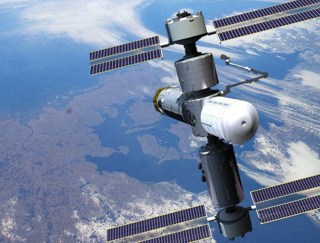 La station spatiale imaginée par