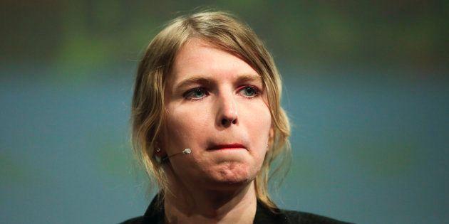 Chelsea Manning, ici lors d'une conférence à Berlin en mai 2018, a été placée en détention ce 8 mars...