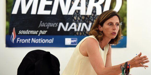 Emmanuelle Menard, élue députée dans la 6e circonscription de