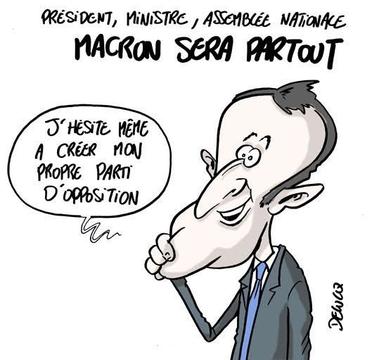 Macron, vraiment satisfait des résultats des élections