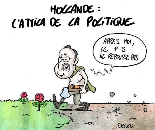 François Hollande, le Monsanto de la