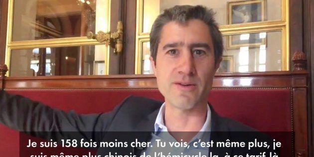 Vidéo de François Ruffin publiée jeudi 7