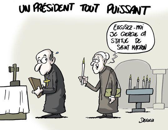 Macron, le Président tout
