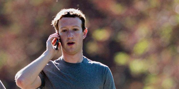 Facebook a supprimé en douce les messages privés envoyés par Mark