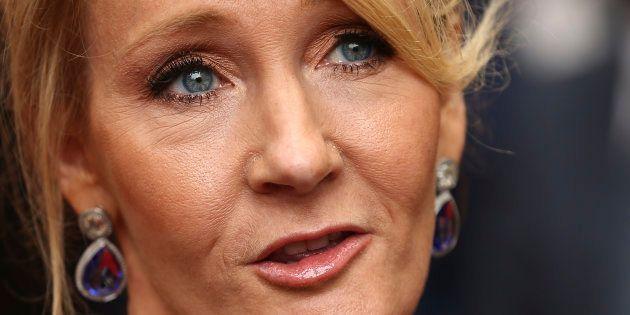 J.K. Rowling le 30 juillet 2016 à