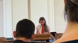 Cette jeune fille de 12 ans a voulu faire son coming out dans son église mormone... qui n'a pas