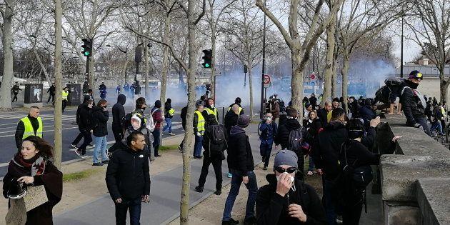D'après les chiffres du ministère de l'Intérieur, 28.600 personnes ont manifesté en France ce samedi...