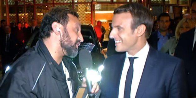 Cyril Hanouna était allé à la rencontre d'Emmanuel Macron en avril 2017, à l'occasion de la 1000e émission...