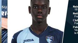 Décès de Samba Diop, jeune joueur du Havre, à l'âge de 18