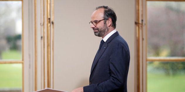 Edouard Philippe à Matignon le 4 avril