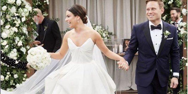 Lea Michele et Zandy Reich se sont mariés ce samedi 9 mars, en Caroline du