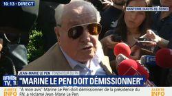 Jean-Marie Le Pen refoulé du bureau politique du