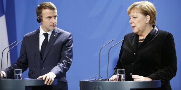 Merkel soutient l'idée d'un siège européen unique à l'Onu, au détriment de la France (photo