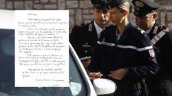 Ces parents ont une bonne raison de remercier la gendarme qui a mis une amende à leur