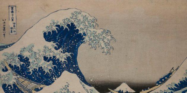 Sous la vague au large de Kanagawa de Katsushika