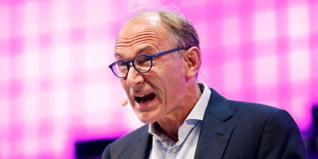 Tim Berners-Lee, l'inventeur du Web à Lisbonne en