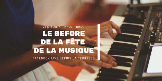 Suivez le Before de la Fête de la musique en direct sur notre page