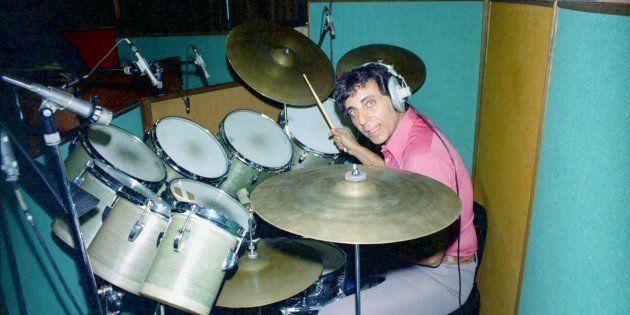 Hal Blaine, ici en studio en 1967, avait joué pour les Beach Boys, Simon & Garfunkel ou encore Nancy...
