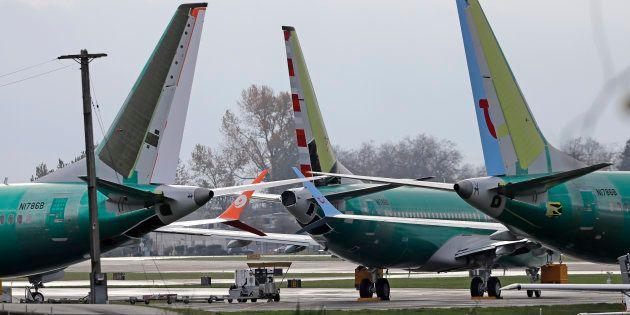 Aux États-Unis, ils refusent de monter à bord du Boeing 737 Max (Photo d'illustration de Boeing 737 Max...