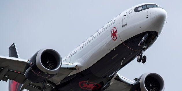 Un modèle de Boeing 737 Max utilisé par Air Canada (photo