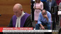 Le cardinal Pell condamné à six ans de prison pour