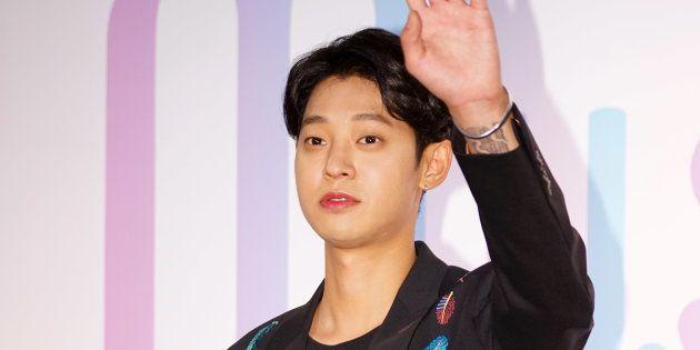 Le chanteur Jung Joon-young en 2017. La star de la K-Pop a mis fin à sa carrière ce mercredi 13 mars,...