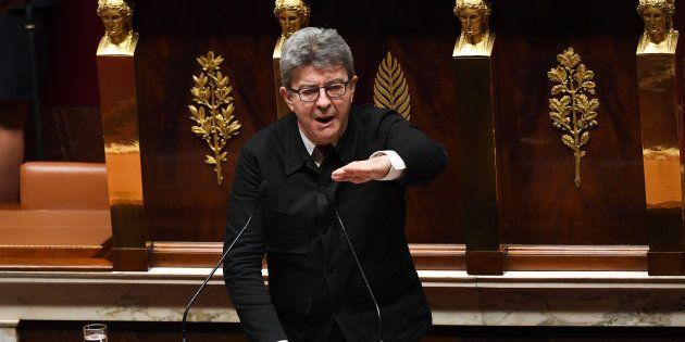 Les partis d'opposition, comme la France insoumise de Jean-Luc Mélenchon (pris ici en décembre dernier),...
