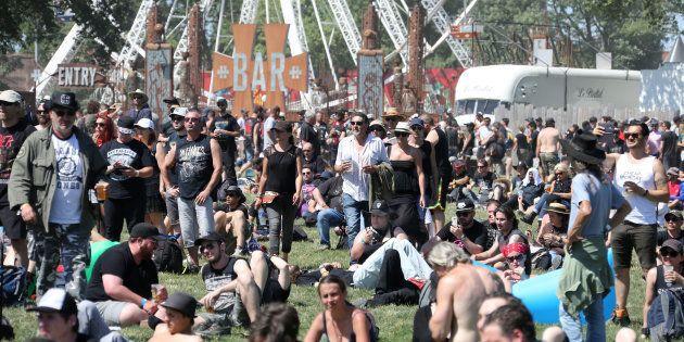 Les metalleux du Hellfest 2017 battent le record de consommation de bière du