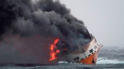 45 conteneurs du navire Grande America renferment des matières
