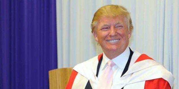Trump versera 25 millions de dollars de dommages aux étudiants de son