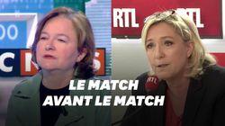 Marine Le Pen face à Nathalie Loiseau: le match avant le