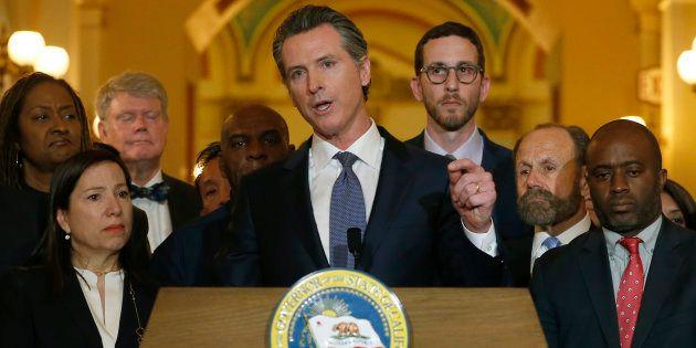 La Californie suspend la peine de